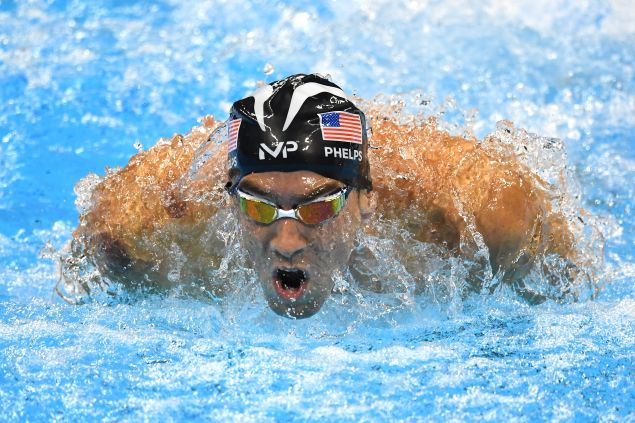 Michael Phelps the video game.
