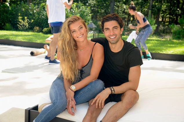 Nina Agdal with Akin Akman