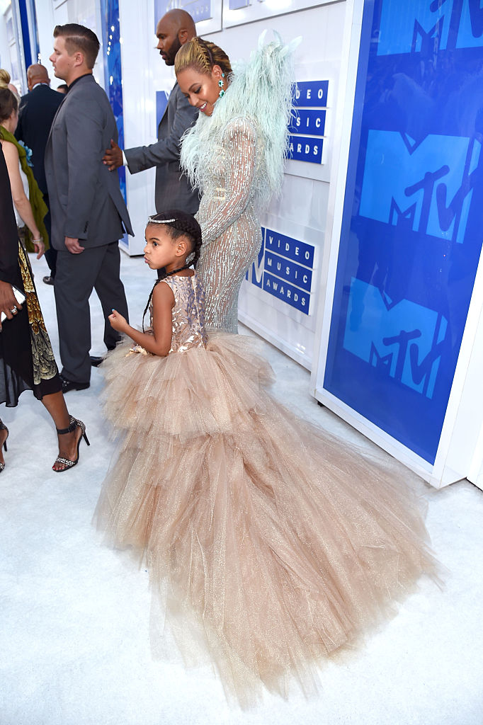 Blue Ivy on the red carpet.