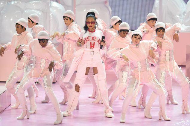 Rihanna in Hood by Air