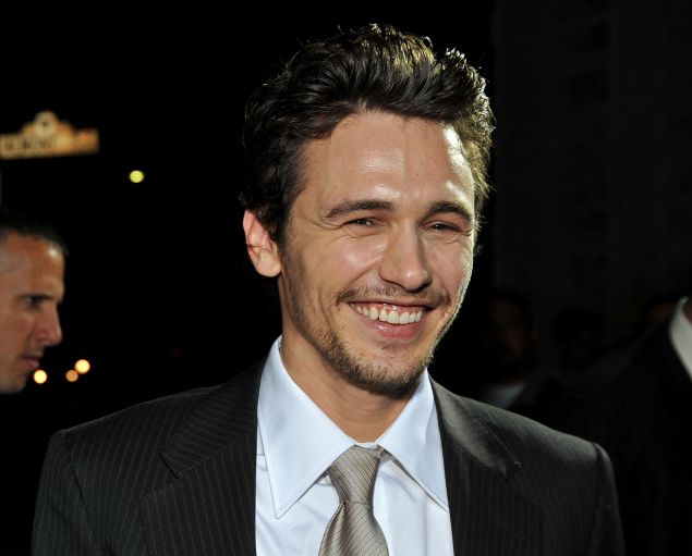 James Franco uses Magic Sleek on set in heavy period costumes.
