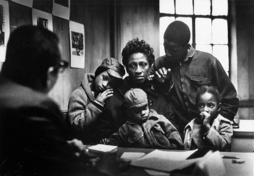 A Harlem Family by Gordon Parks.