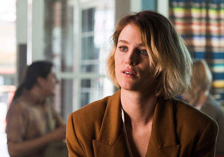 Mackenzie Davis in Halt and Catch Fire.