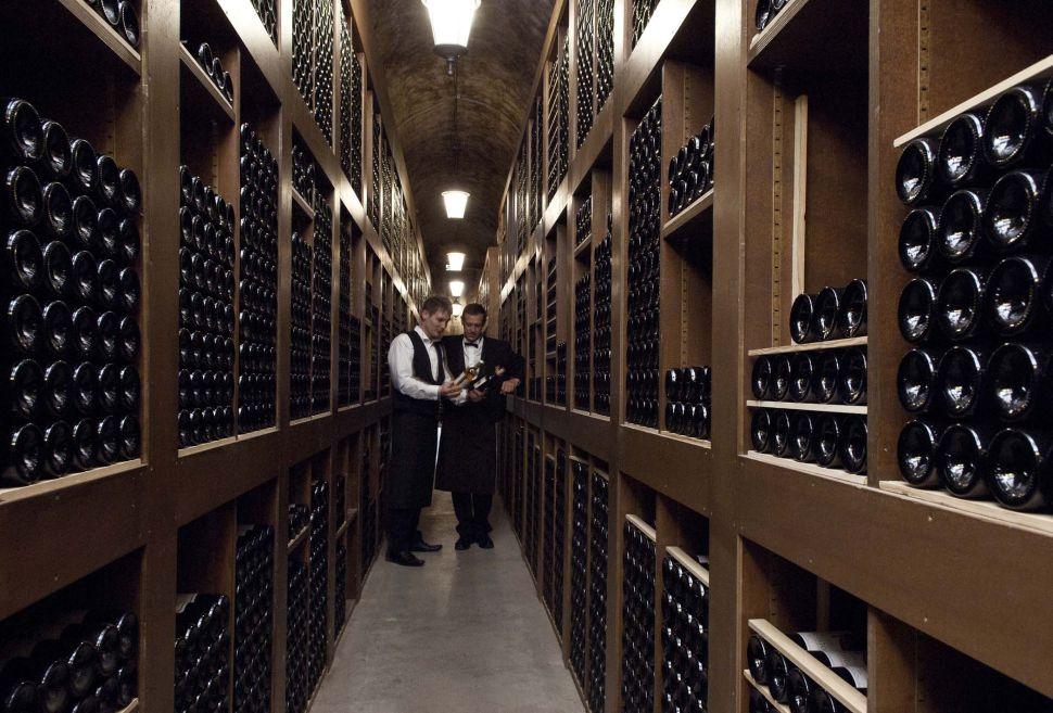 The Hôtel de Paris Wine Cellar