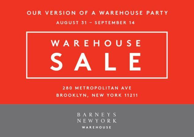 The Barneys Warehouse Sale