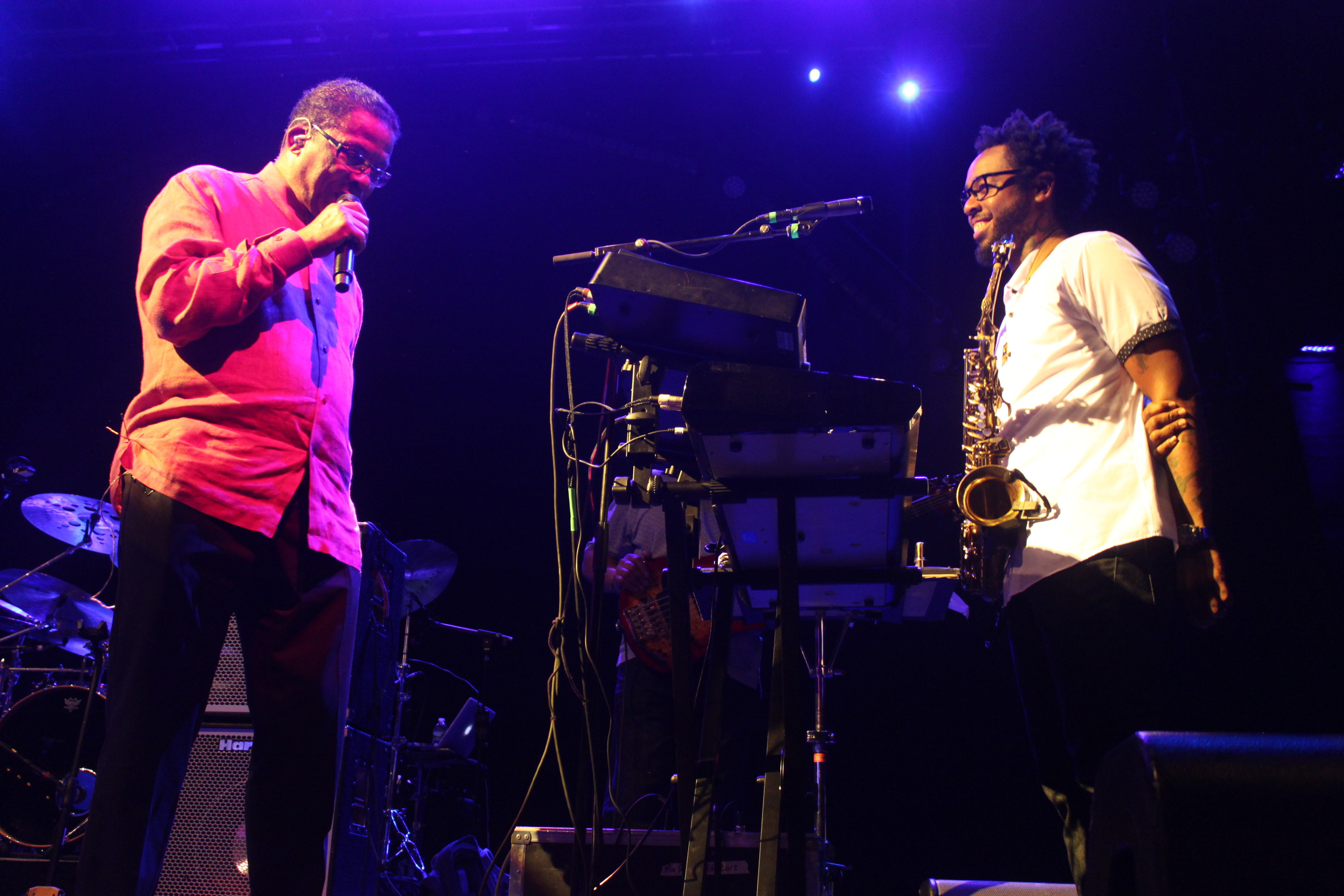 Herbie Hancock and Terrace Martin at BRIC Celebrate Brooklyn! Festival on Aug 11, 2016