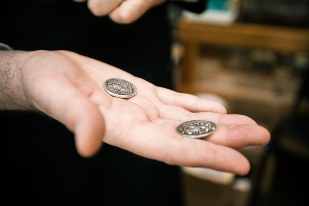 Coins from the time of Alexander the Great.