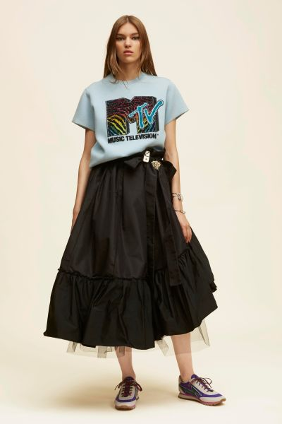 Marc Jacobs Short Sleeve Embroidered MTV Sweatshirt, $995