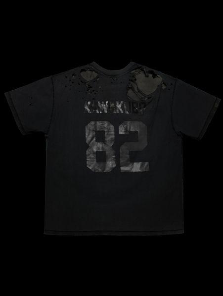 Black on black in homage to Rei Kawakubo