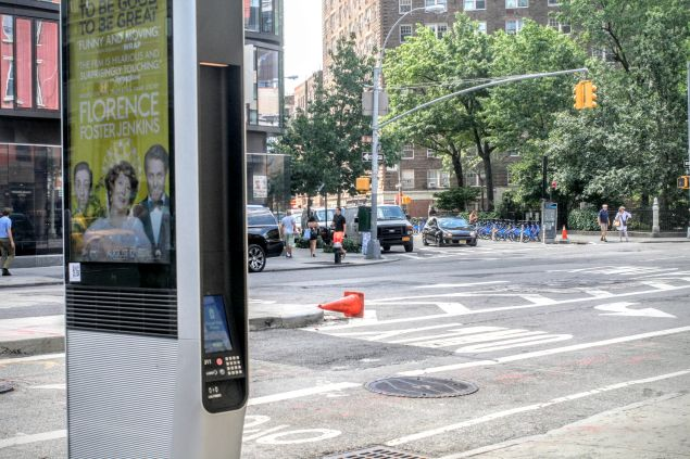 Nested within several companies, Alphabet (known to normal people as Google), runs LinkNYC, the most helpful surveillance equipment around.