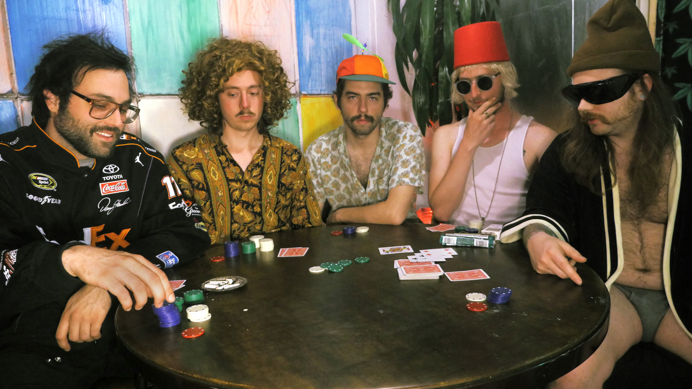 MHC as Dogs Playing Poker, with Alexander Brettin at center