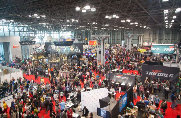 New York Comic Con.