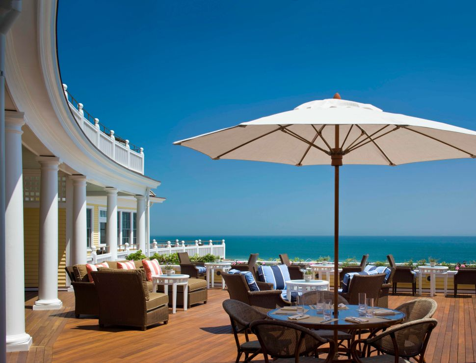 The Club Deck at The Ocean House