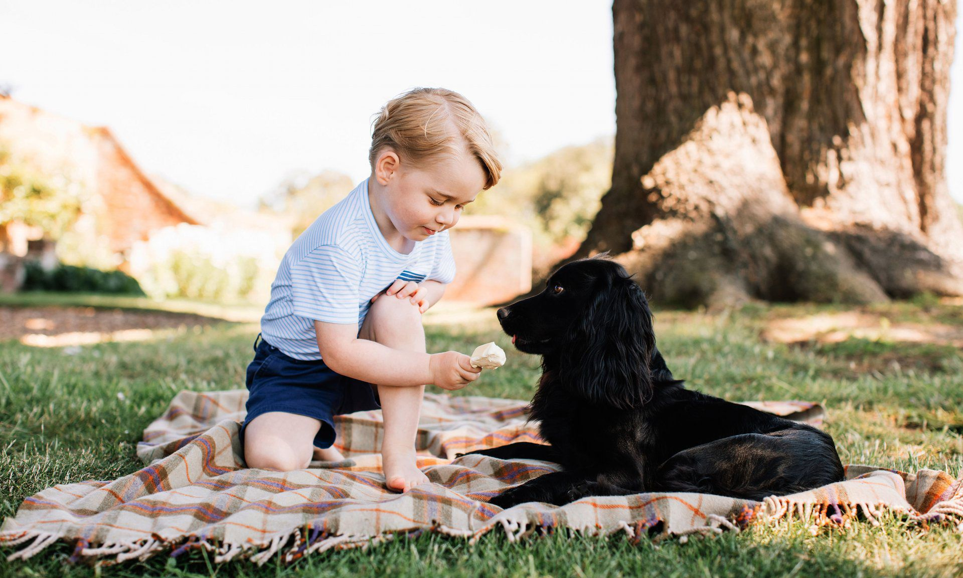 Prince George's original best friend.