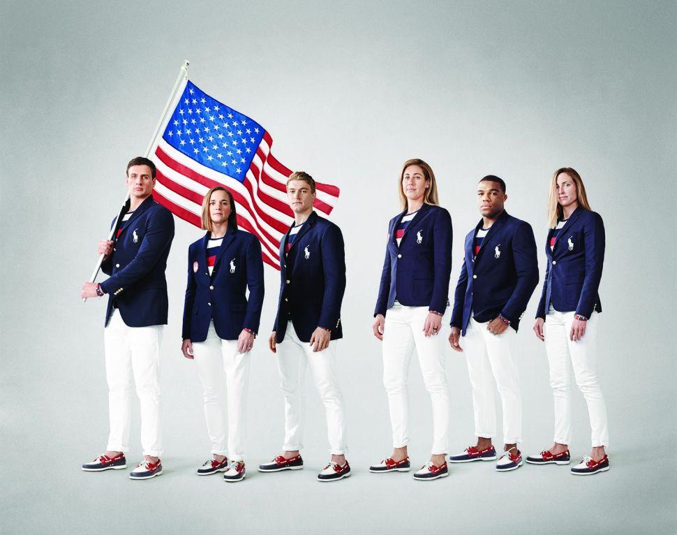 Ralph Lauren's Olympics Opening Ceremony Uniform Unveil