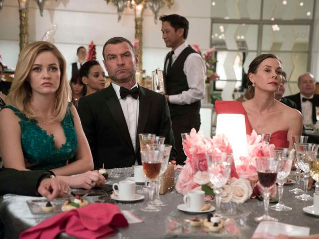 Ambyr Childers as Ashley Lynn Prescott, Liev Schreiber as Ray Donovan and Embeth Davidtz as Sonia Kovitzky.