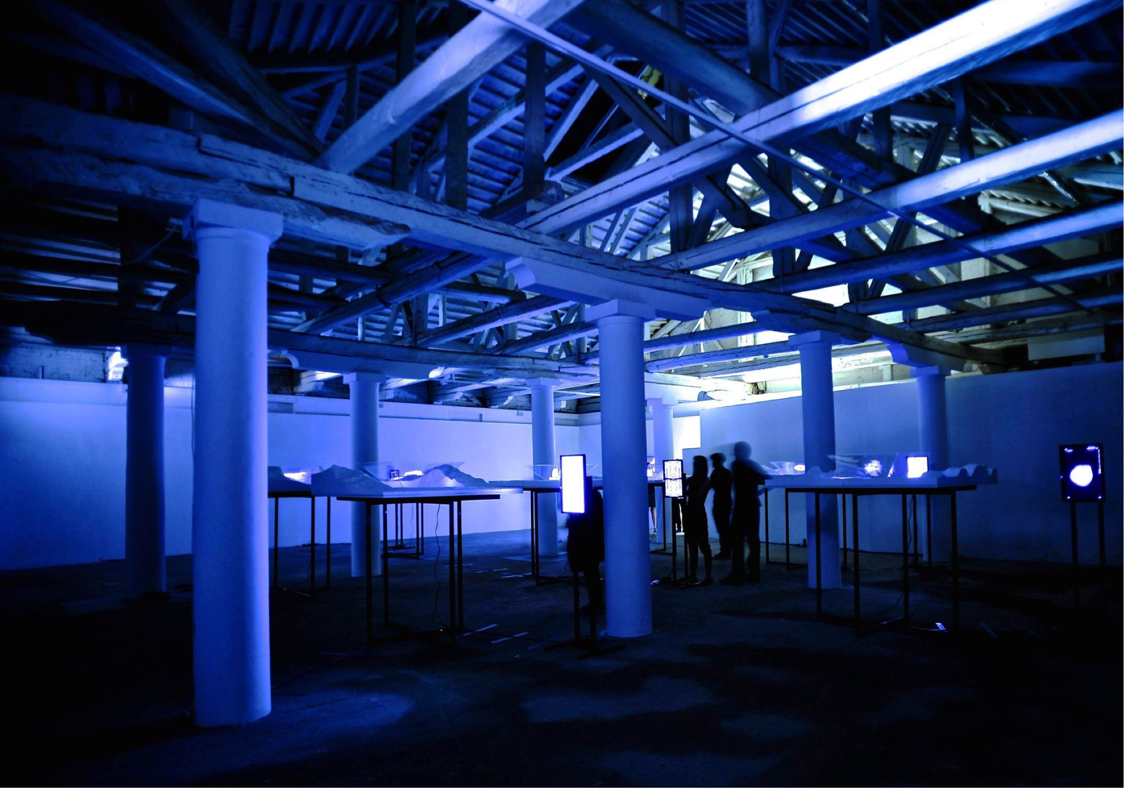 The Antarctic Pavilion, titled Re-cyclical, at the 15th Venice Biennale of Architecture.
