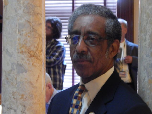 NJ State Senator Ronald Rice, the sponsor of a bill to require the state Attorney General to investigate all fatal police shootings.