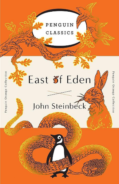 A cover from the Penguin Orange Collection