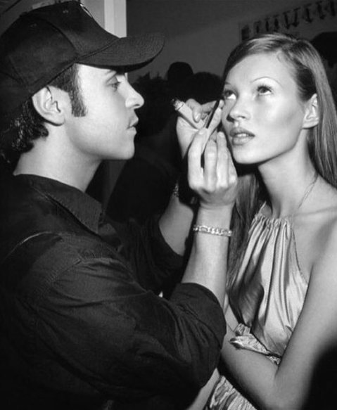 Francois Nars beautifies Kate Moss