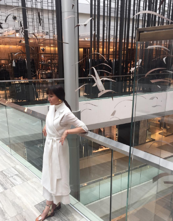 Los Angeles native Rosetta Getty poses in Hong Kong.