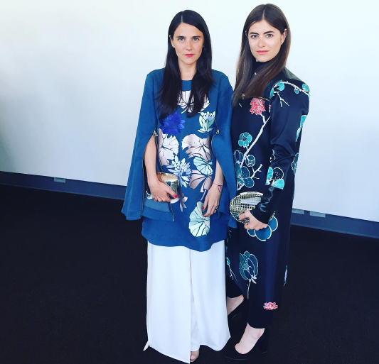The Anndra Neen girls are design partners, founders and sisters.