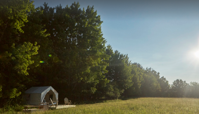 Unlike your typical campground, Tentrr sites allow you to unplug and truly immerse yourself in nature.