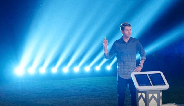 Host Ryan Devlin during the season four finale.
