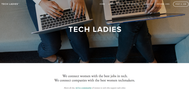 Hire Tech Ladies is the go-to job resource for women in tech.