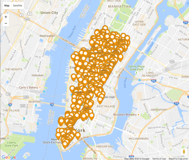 There are hundreds of MealPass locations to choose from in each city.