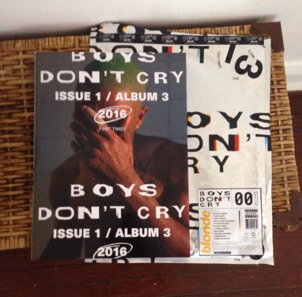 Frank Ocean's Boys Don't Cry zine, given out for free at pop-up shops across the U.S., is already selling for upwards of $300 of eBay.