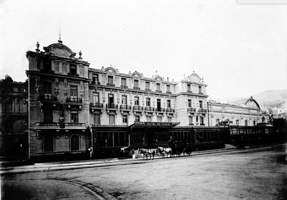 The Hôtel de Paris Monte-Carlo - 1890