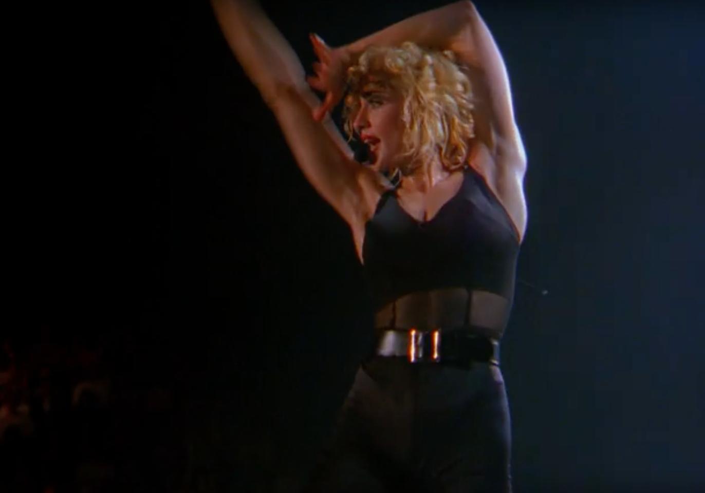 Madonna in Truth of Dare.