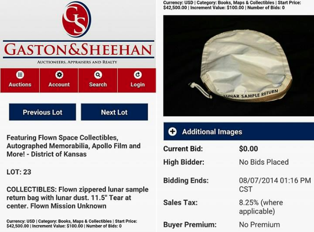 Gaston & Sheehan's website still shows the old listing