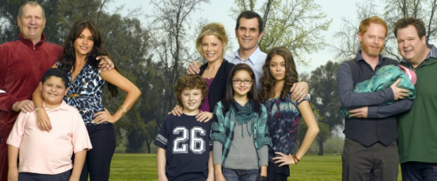 The cast of ABC's Modern Family.
