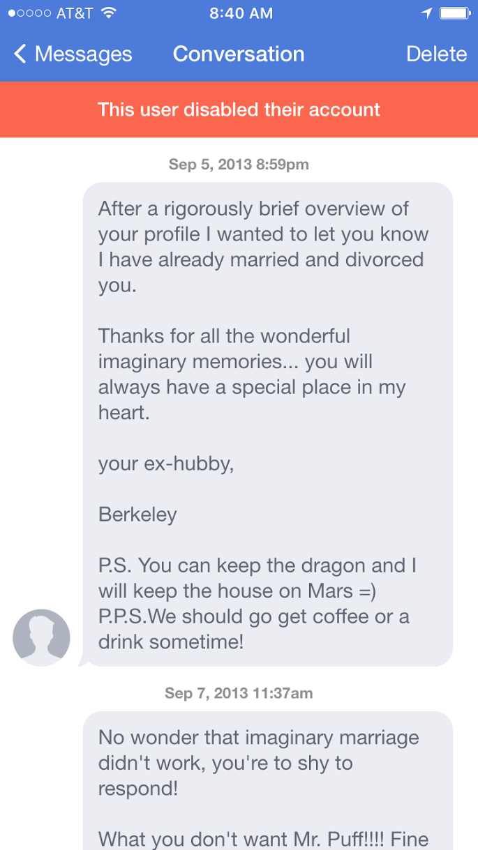 Who could resist a copy and pasted marriage proposal like this one?
