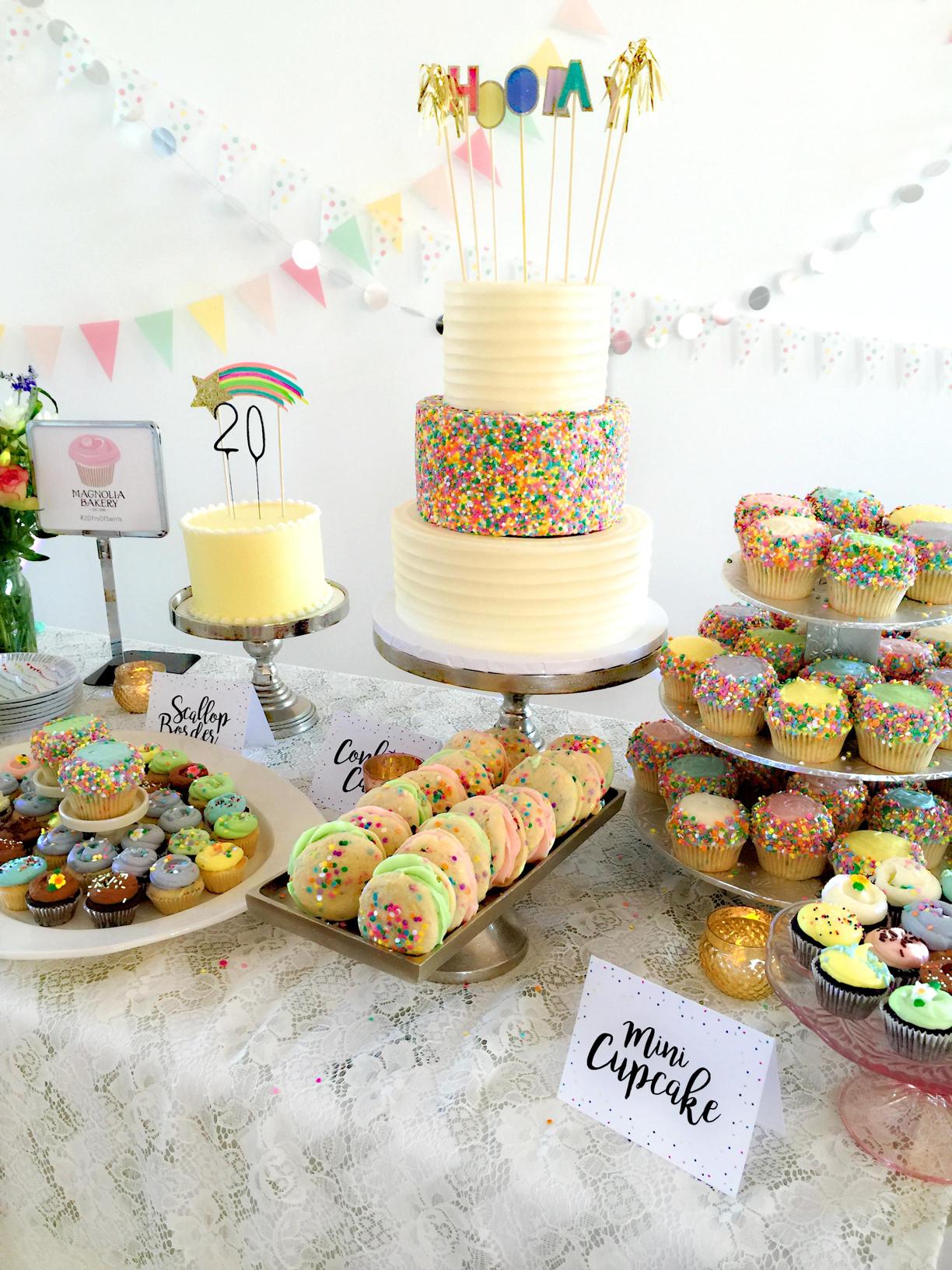 Every birthday party needs cake.