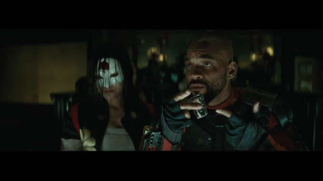 Another round on Deadshot (Will Smith) in Suicide Squad.