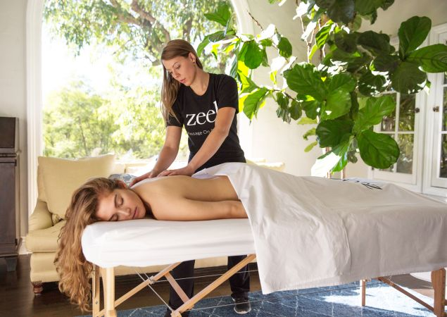 Zeel offers same day massages on-demand, by app.