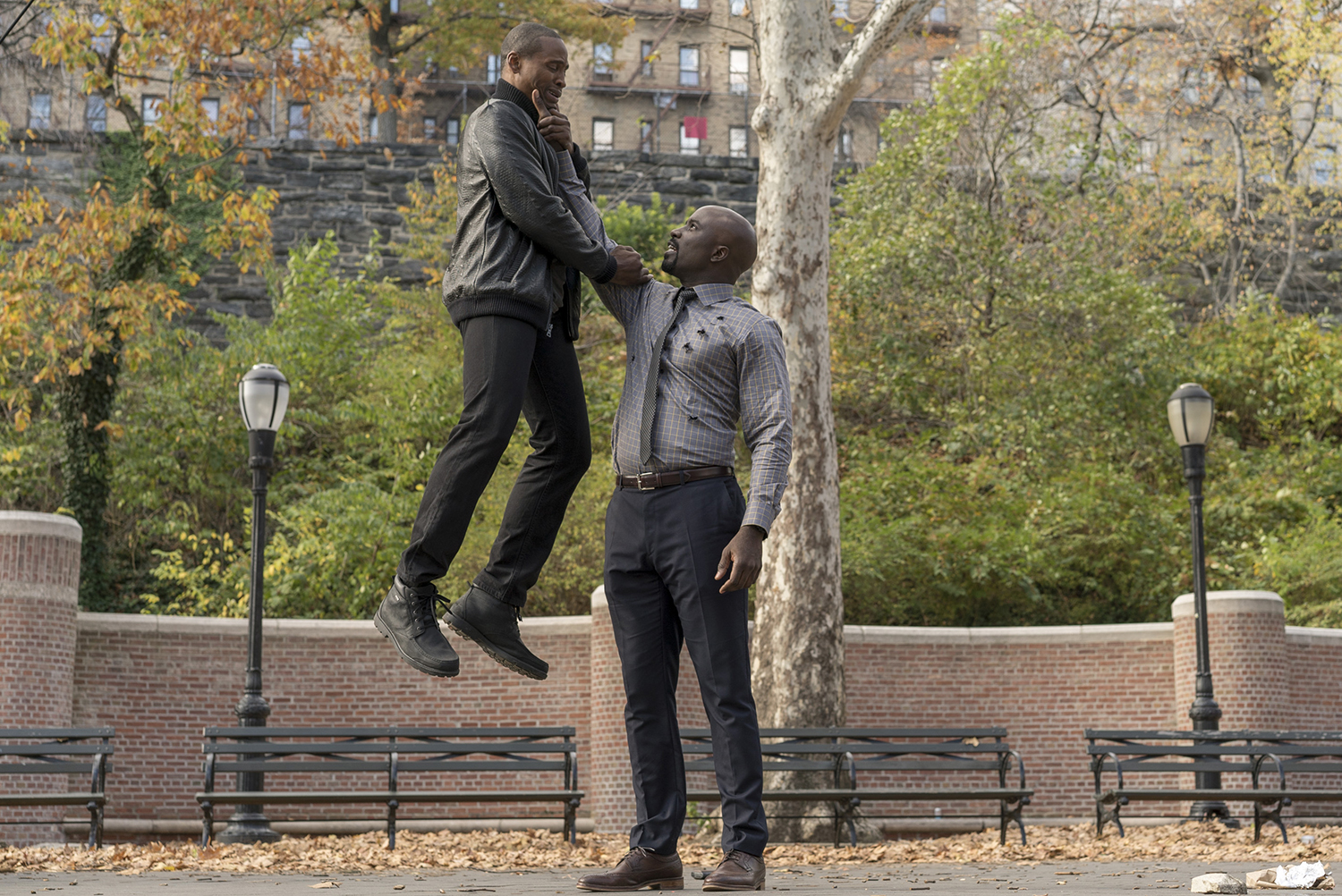 Mike Colter in Marvel's Luke Cage.