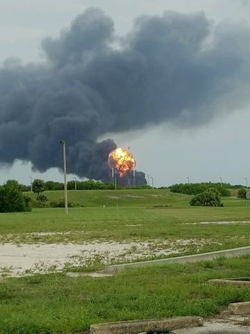 Another photo of the explosion.