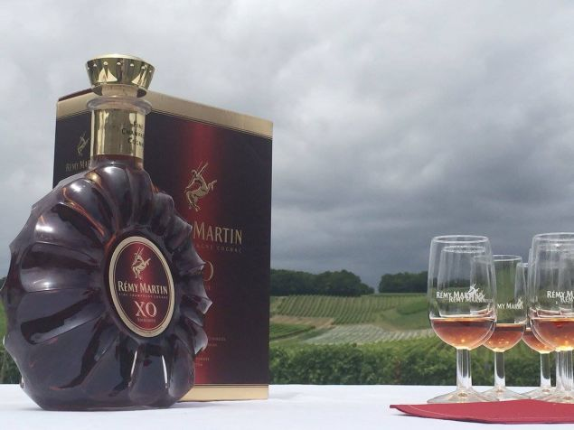 Rémy Martin has 80 percent market share of their variety of cognac.