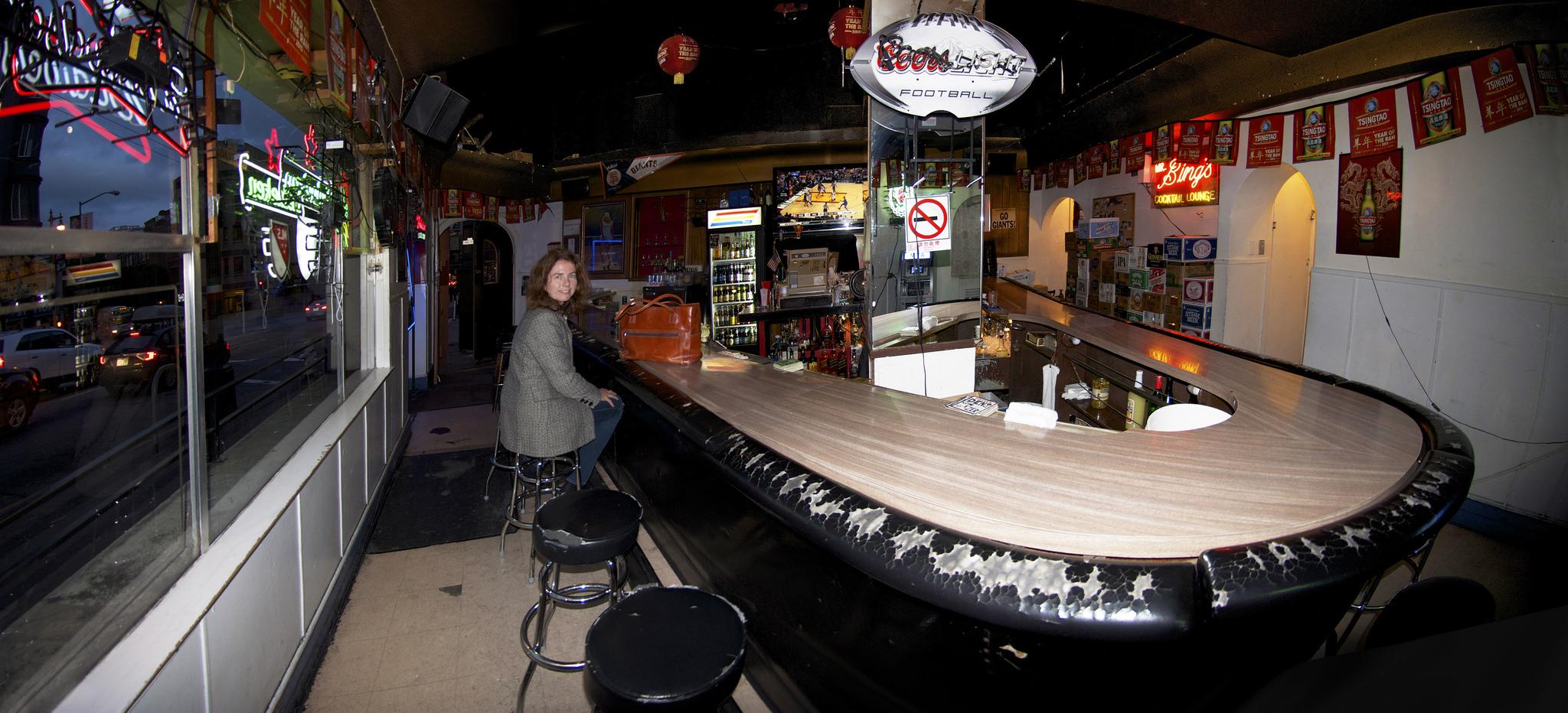 A dive bar in San Francisco.