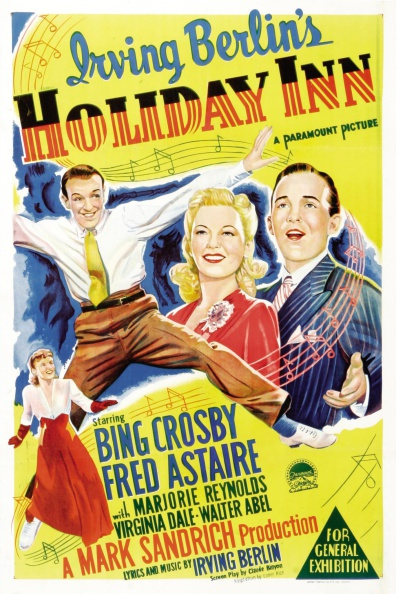A poster for the original Holiday Inn.