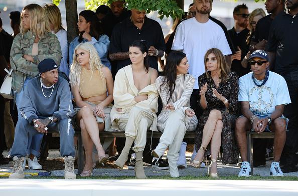 Tyga, Kylie Jenner, Kendall Jenner, Kim Kardashian, Carine Roitfeld, Pharrell