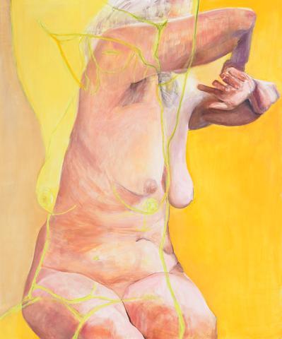 Joan Semmel, Aura, (2016).
