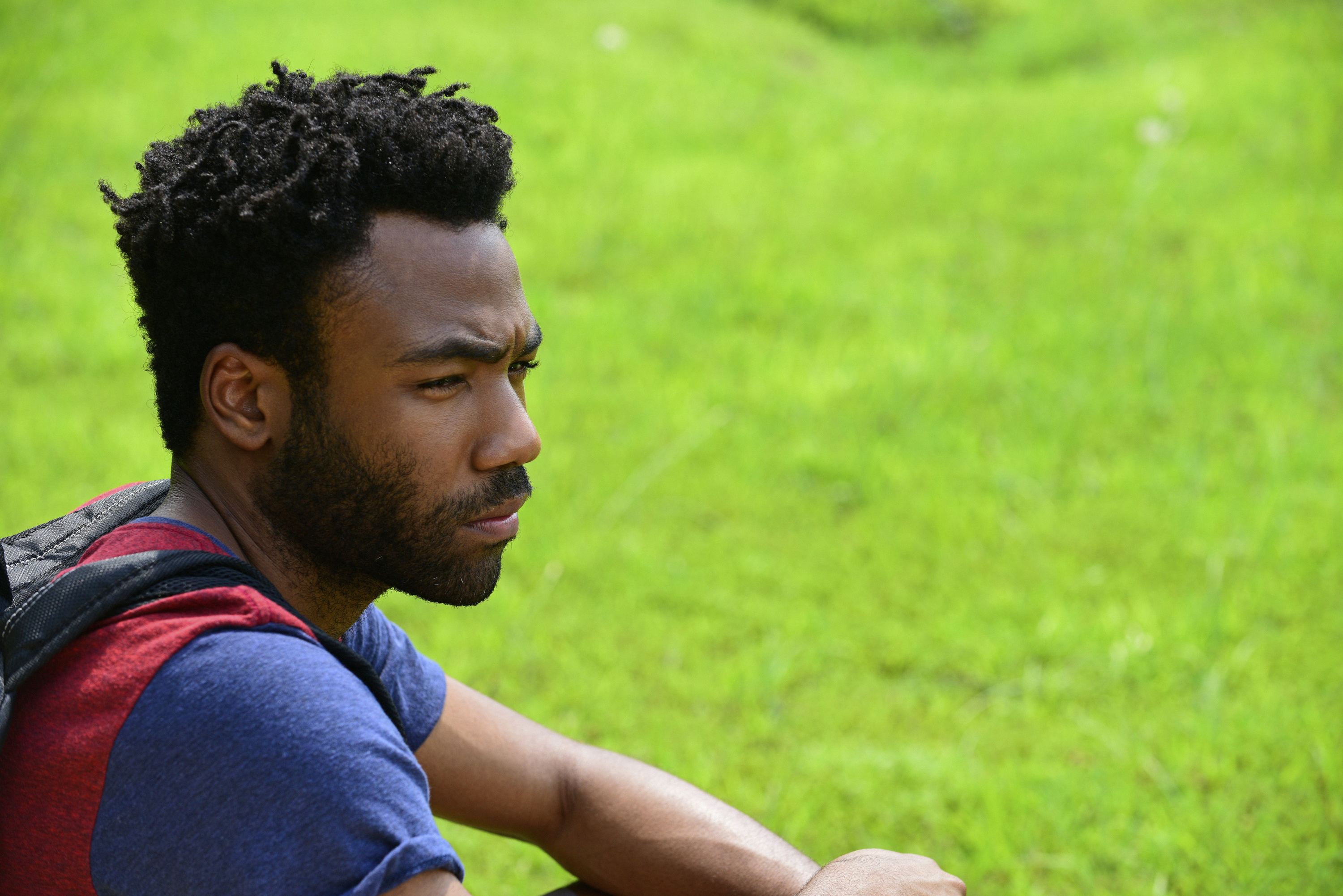 Donald Glover as Earnest Marks.