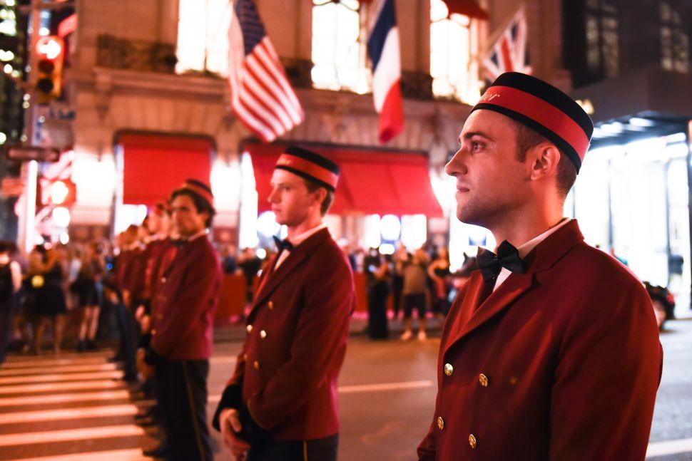 Cartier crossing guards