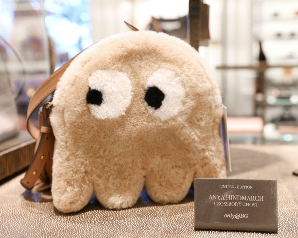 Anya Hindmarch's Pac Man Ghost handbag