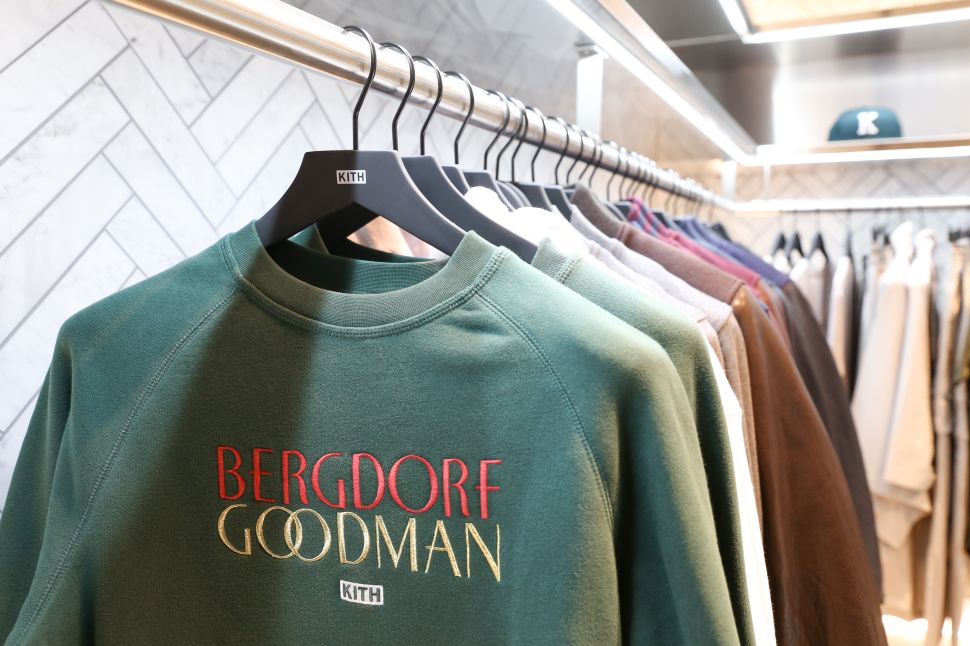 Kith's shop-in-shop at The Goodman Men's Store